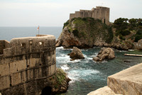 Dubrovnik, View f City Walls, Revelin Fortress1020604