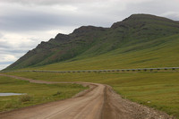 Dalton Hwy, Brooks Range, Pipeline and Rd0611387a