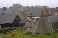 Louisbourg Fortress, Ice House020825-8321