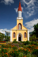 Tahiti, Papeete, Catholic Cathedral V0585843a