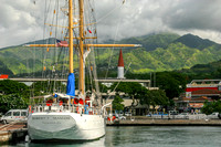 Tahiti, Papeete, Robert Seamans Ship0687968a