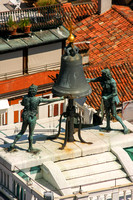 Venice, San Marco Sq, Camponile, View, Bell Clappers V0943296