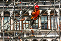 Venice, San Marco Sq, Construction Worker0943356