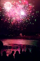 Pacific Grove, Chinese Lantern Festival, Fireworks V150-8468
