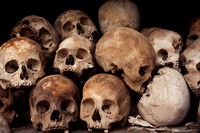 Phnom Penh, Killing Fields, Skulls S -8897