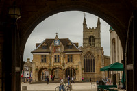 Peterborough, Square nr Cathedral131-1712