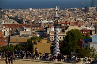 Barcelona, Parc Guell, Gaudi130-7773