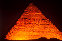 Giza, Great Pyramid, Night S -8646