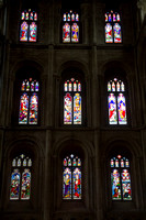 Peterborough, Cathedral, Int, Windows V131-1729