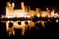 Caernarfon, Castle, Night S -3811