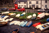 Conwy, Boats, Smallest House S -3829