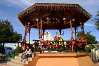 La Paz, Gazebo and Girl106-0638