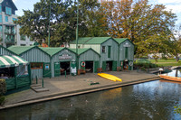 Christchurch, Boathouses on the Avon R160-3096