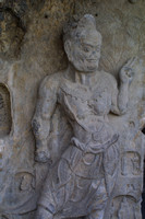 Longmen Caves, Figure, V020414-8095