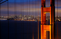San Francisco, Golden Gate Br, Skyline020929-0110a