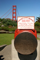 San Francisco, Golden Gate Br V0584348a