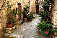 St Paul Vence, Alley1032197a