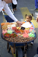 La Paz, Girl w Candy Vendor106-0626