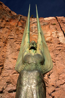 Hoover Dam, Statues V0748835a