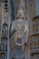 Longmen Caves, Figure, V020414-8139