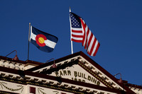 Cripple Creek, Bldg, Flags1010574