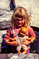 Isle of Inishmore, Girl w Doll S V-0392