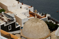 Santorini, Fira, Church Dome1017554