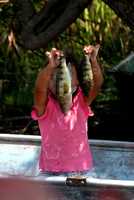 New River, Girl Showing off Fish1117556a