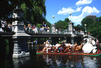 Boston Common, Swan Boat and Bridge