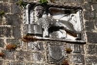 Porec, Lion Statue in Town Wall1022193