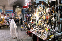Tunis, Medina, Shoe Shop1026676a