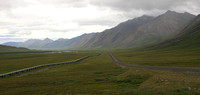Dalton Hwy, Brooks Range, Pipeline and Rd0611373a