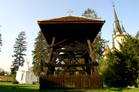 Brasov, Nicolae Cathedral, Bell Tower031003-1656