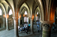Mont St Michel, Monastery, Int1038063a