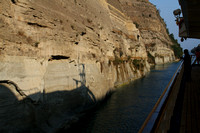 Corinth Canal, Boat Shadow1018537