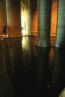 Mont St Michel, Monastery, Int, Cistern V1038044a