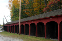 Horse Sheds in Lyme, New Hampshire