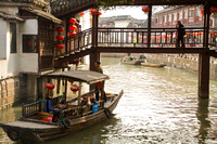 Zhujiajiao, Canal, Bridge120-9766