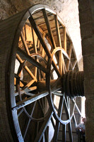 Mont St Michel, Monastery, Supply Lift Wheel, Int V1038059a