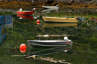 Mageroy Island, Kamoyvaer, Boats, Reflection1041310