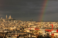 Paris, Arc de Triomphe, View, Rainbow0940752