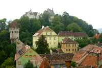 Sighisoara, Hill f Clock Tower031001-1125a