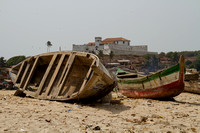 Elmina, Boats on Beach120-5691