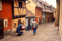 Prague, Prague Castle, Golden Lane S -8556