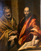 St Petersburg, Hermitage, El Greco, Peter and Paul1047190a