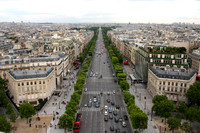 Paris, Arc de Triomphe, View, Champs Elysees0940662