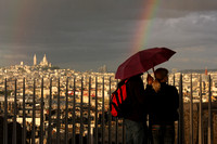 Paris, Arc de Triomphe, View, Rainbow0940761