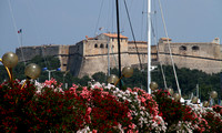 Antibes, Castle, Flowers1032828a