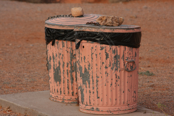Valley of Fire SP, Garbage Bins0748906
