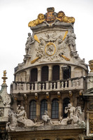 Brussels, Grand Place, Roof Design V130-9895